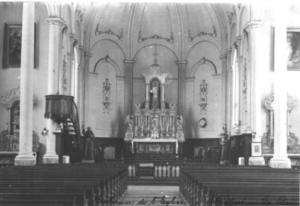 Intérieur Église St-Martin