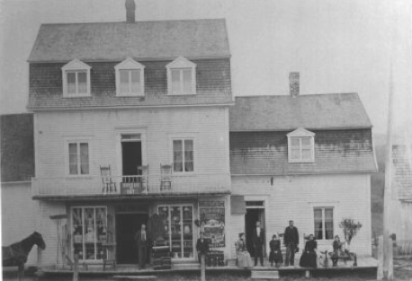 Magasin Emery Poulin 1901