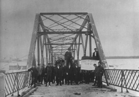 Pont de Fer St-Martin 1913