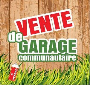 Vente de garage communautaire