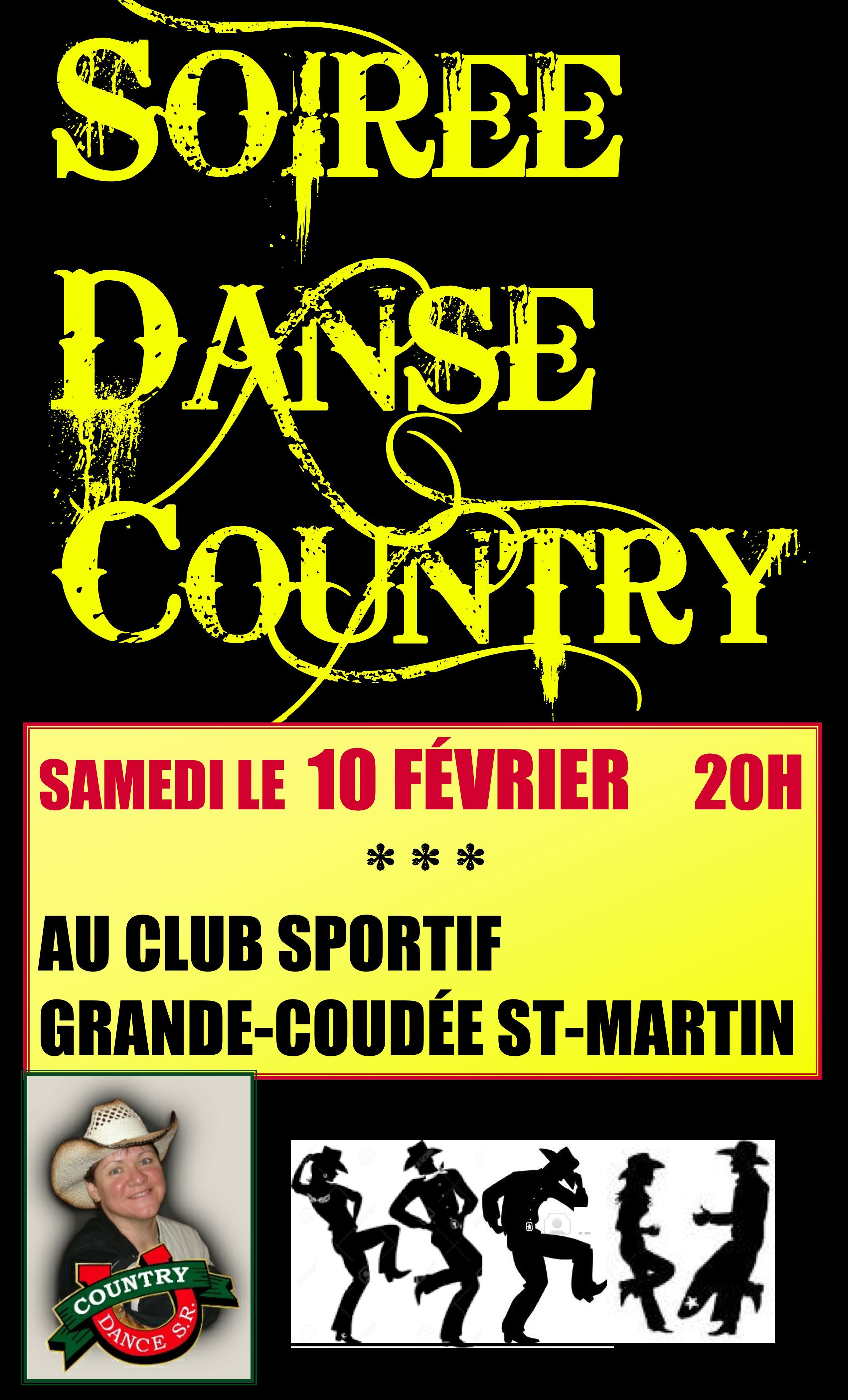 Soirée danse country