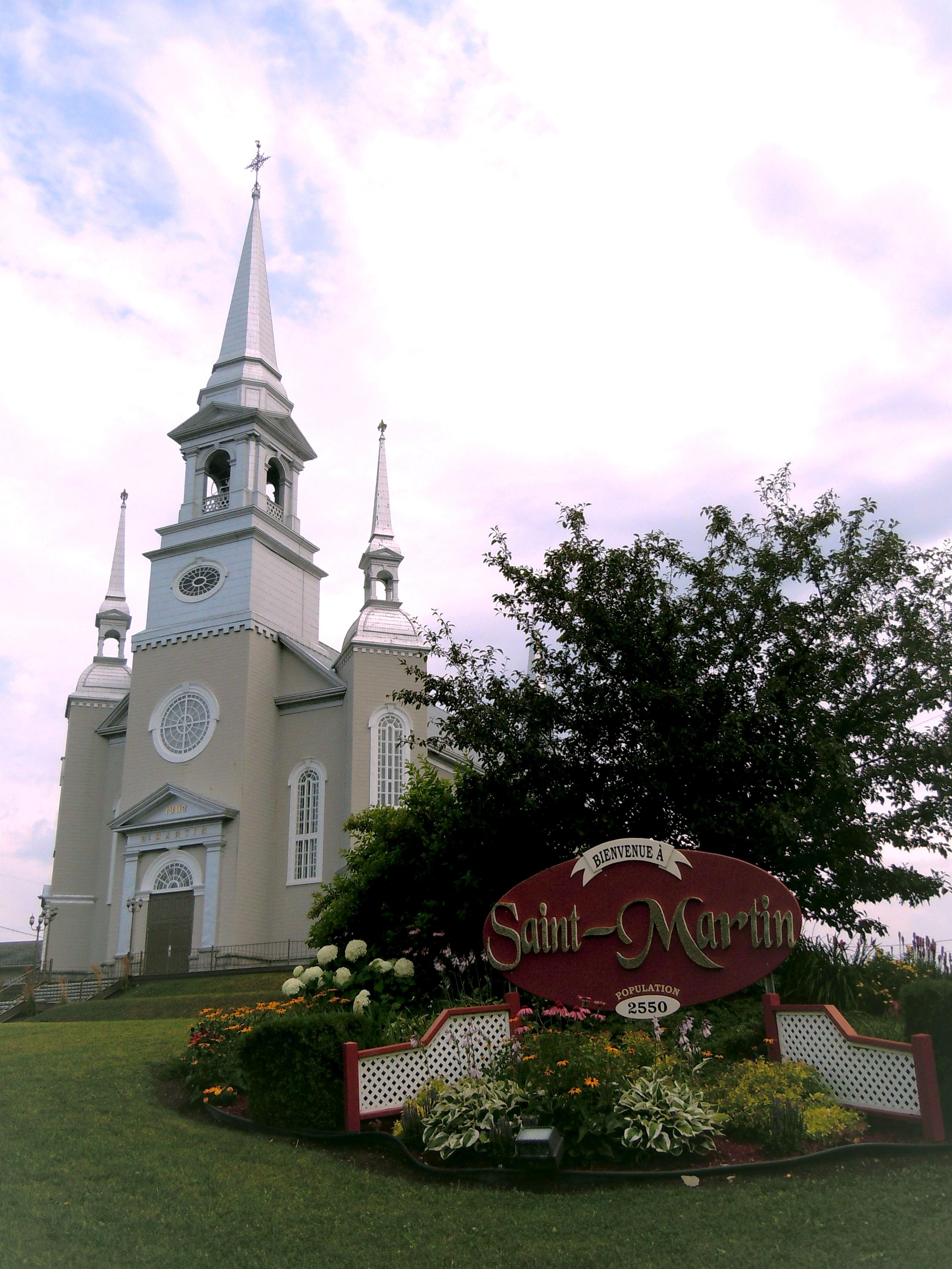 Eglise de St-Martin de Beauce