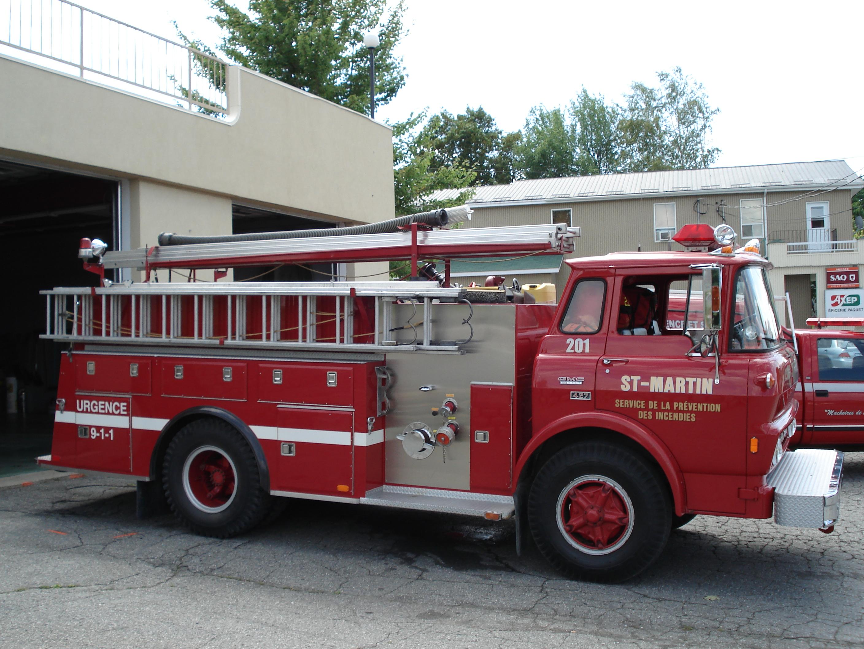 Caserne des pompiers St-Martin de Beauce