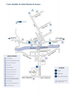 Carte de St-Martin de Beauce